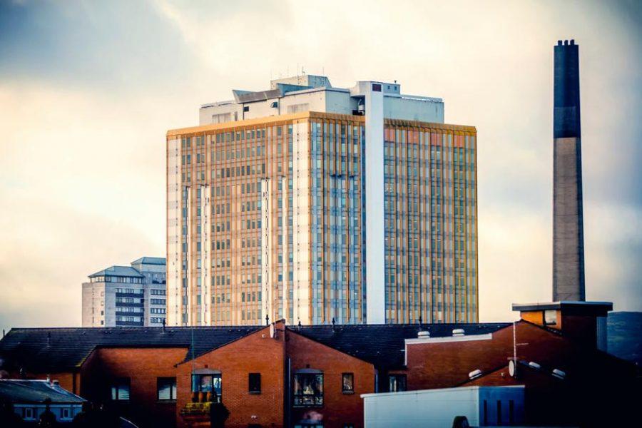 Belfast tower block
